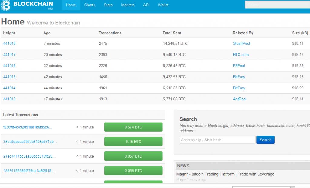 bitcoin-block-explorer-blockchain